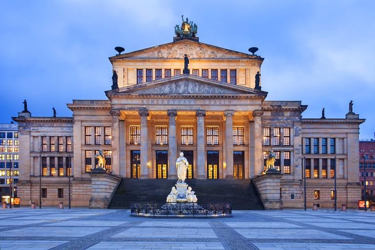 Neo-classical Concert Hall in Berlin