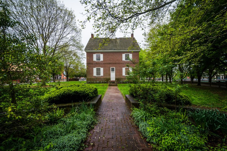 The Colonial Courthouse in York, Pennsylvania