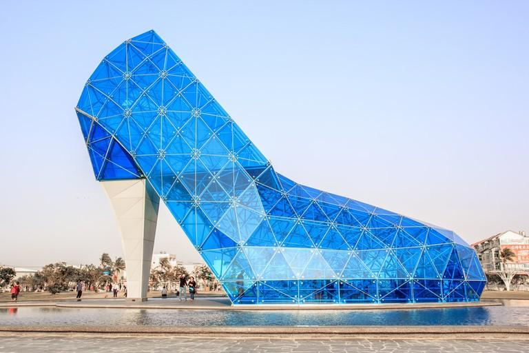 Blue shoe church, Taiwan