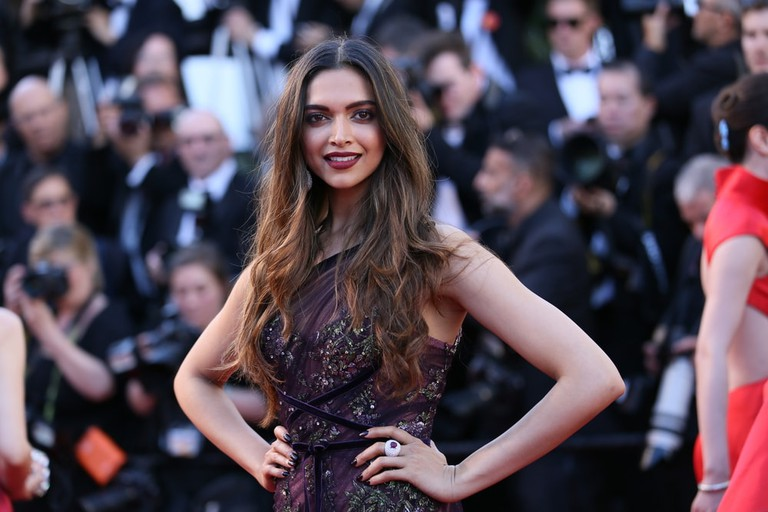 Deepika Padukone at the 70th Cannes Film Festival in 2017