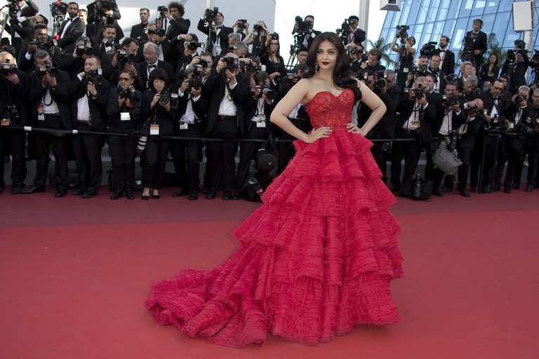 Aishwarya Rai at the 70th Cannes Film Festival in 2017