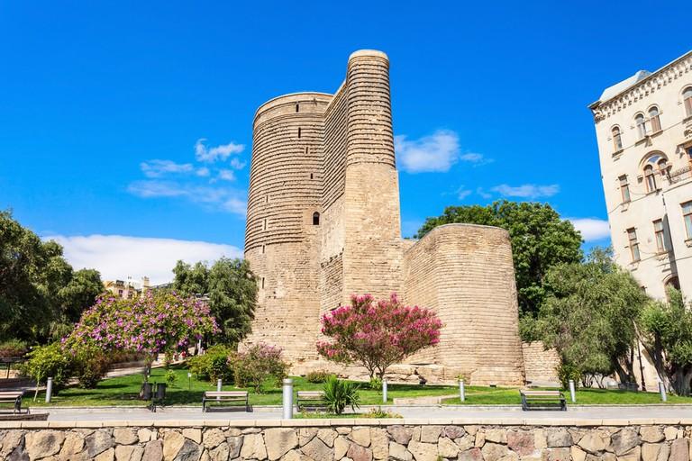 The mysterious tower in Icheri Sheher | ©saiko3p/Shutterstock
