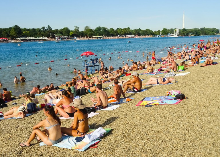 If it does get too hot, make your way to Ada Ciganlija