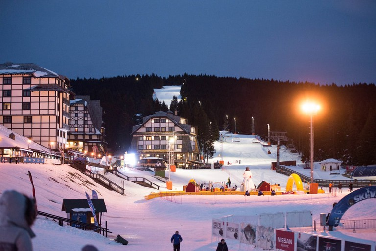 Night skiing at Kopaonik