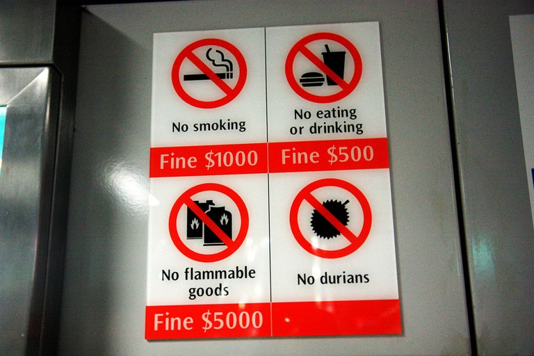 Singapore Fine Signs