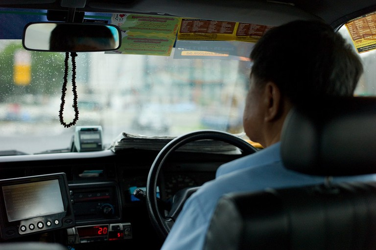 Singapore Taxi Driver