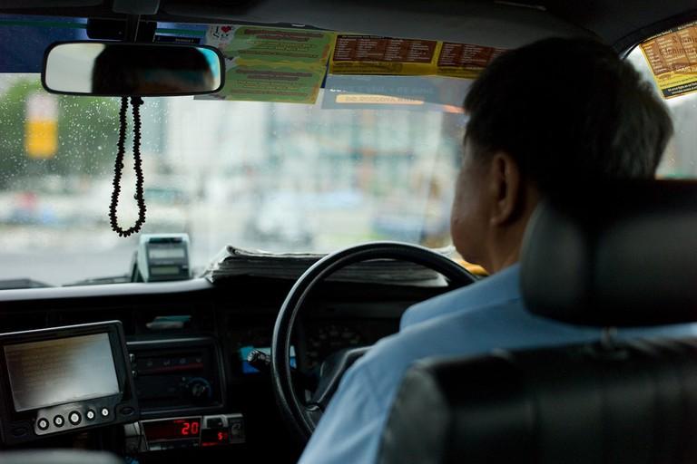 Singapore Taxi Driver