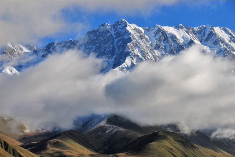 Shkhara massif