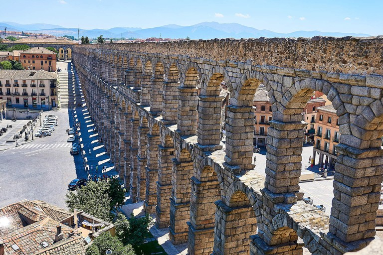 Explore nearby cities like Segovia, with its Roman aqueduct