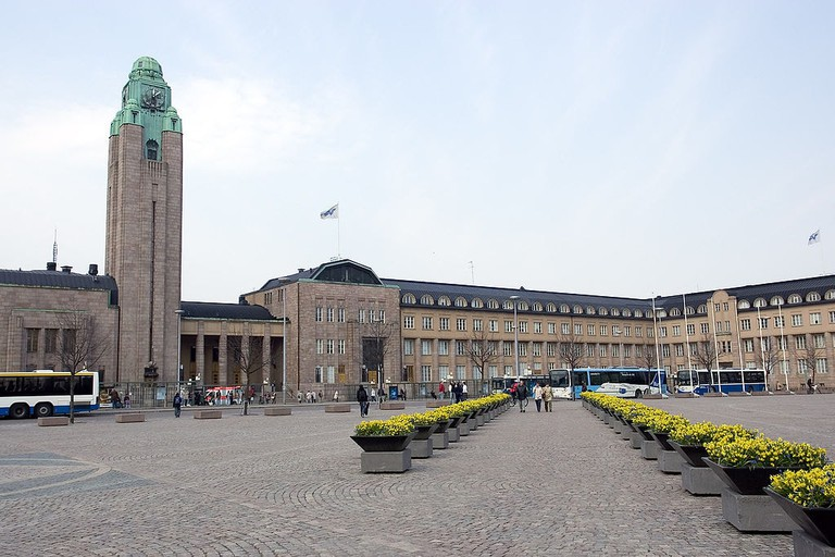 Helsinki central train station
