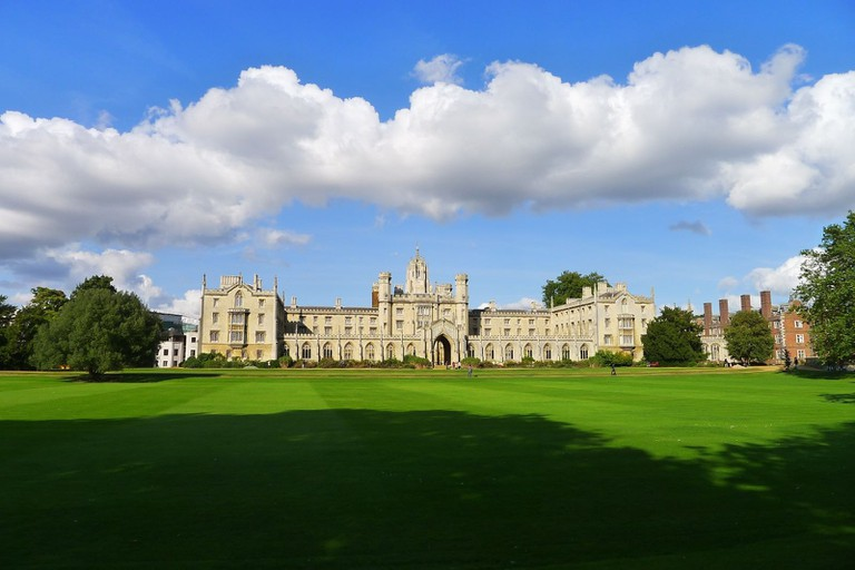 St John's College Cambridge, England
