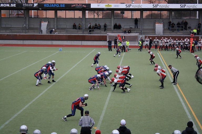 The Stockholm mean machines are Stockholm's best American football team