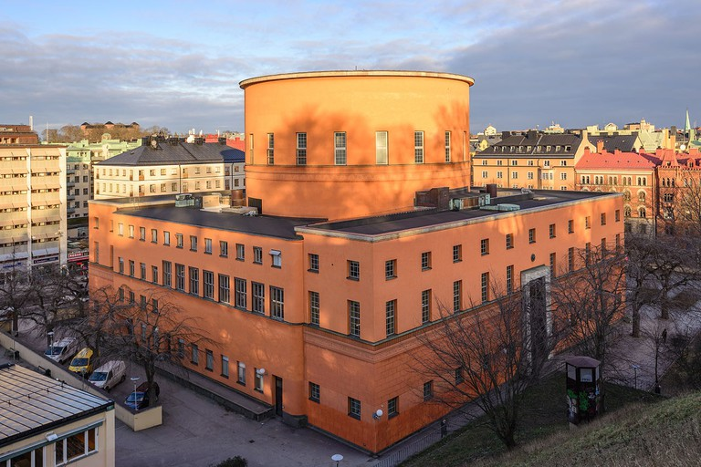 Asplund designed the beautiful Stockholm Public Library