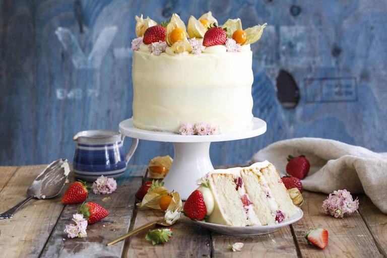 Strawberry cake by Ida Gran-Jansen | Courtesy of Ida Gran-Jansen