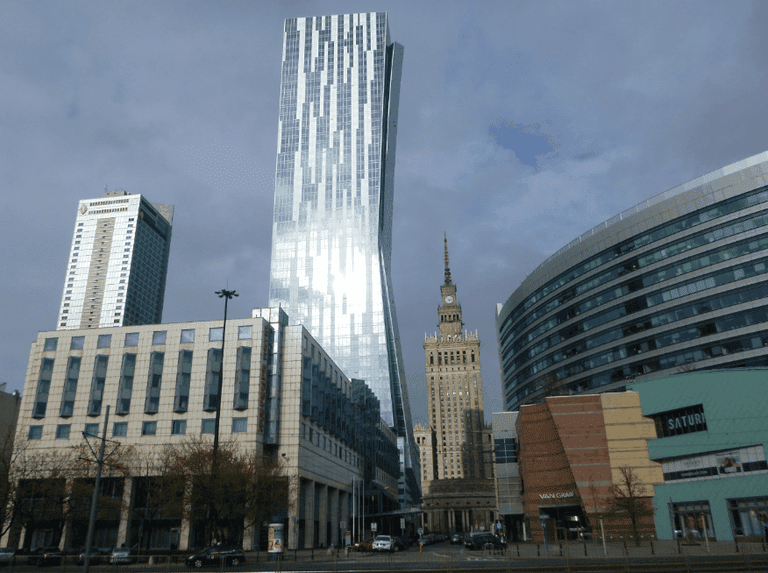 Tallest in Warsaw