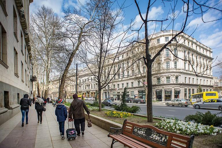 Rustaveli Avenu in Tbilisi