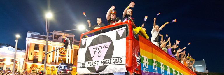 The 78ers at the Mardi Gras Parade | © Courtesy of Sydney Gay and Lesbian Mardi Gras