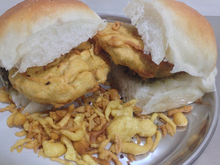 The Puneri Vada Pav