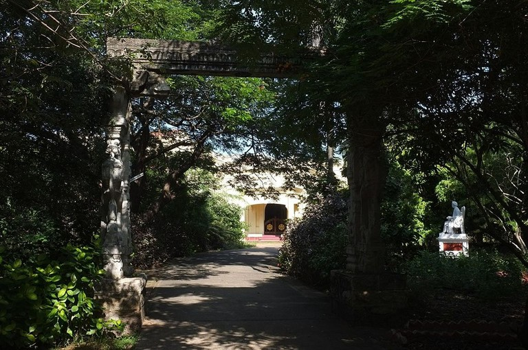 The Huddlestone/Besant Gardens are a part of the Theosophical Society Headquarters in Besant Nagar
