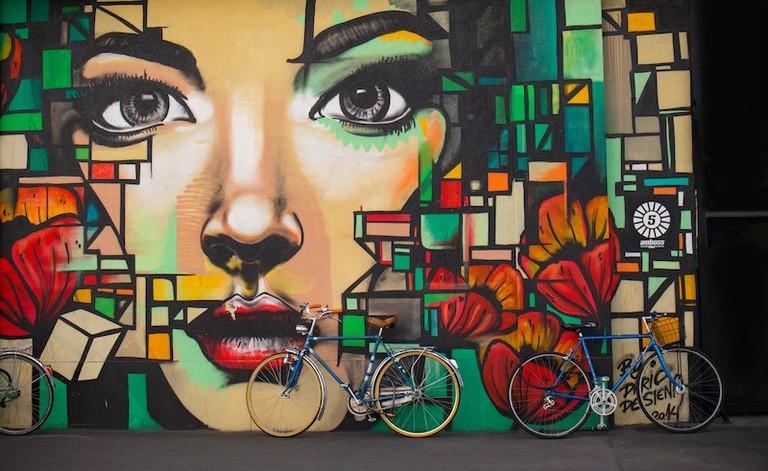 Street art is trendy