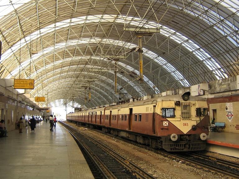 A Mass Rapid Transit System (MRTS) Station at Mylapore, Chennai