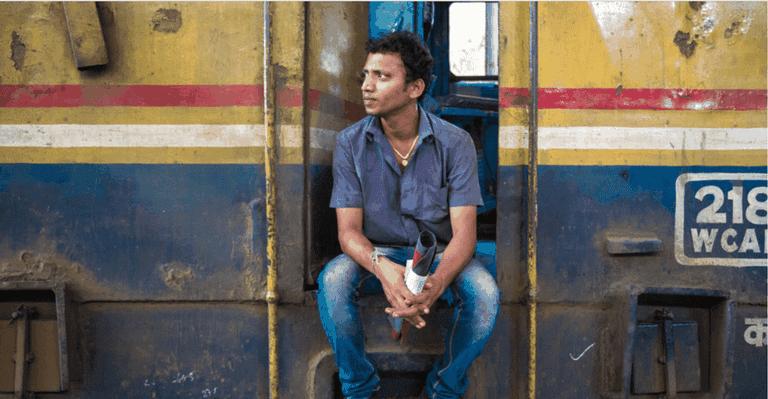 A railway worker