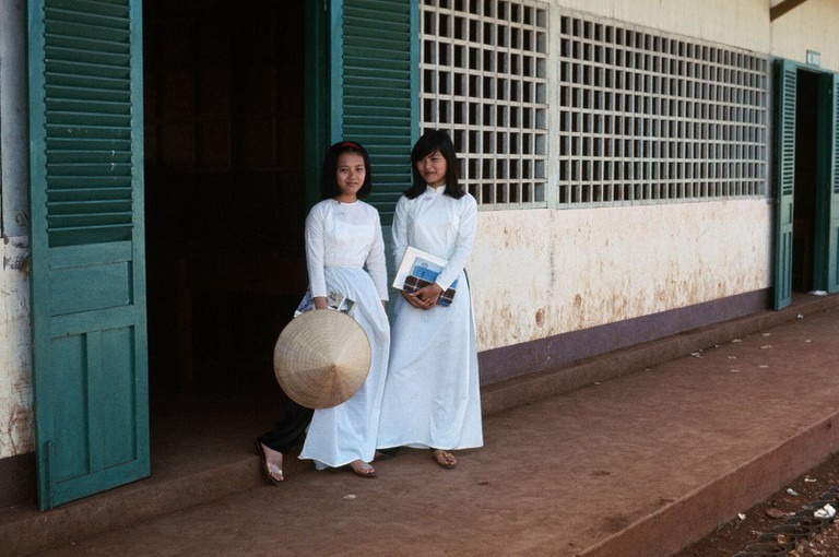 Vietnamese school girls | © manhhal/Flickr