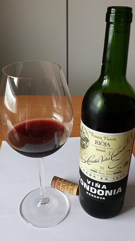 Viña Tondonia wine, La Rioja