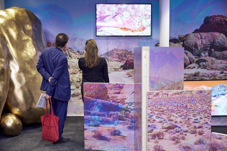 Installation view of London Art Fair 2017