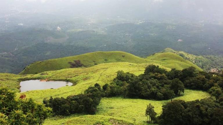 The 'Love Lake' is a popular tourist destination in Wayanad, Kerala