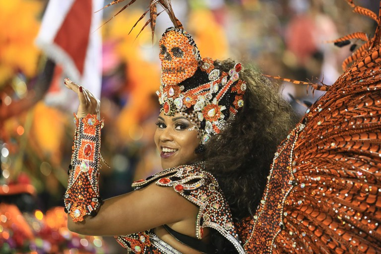 The Carnival dancers