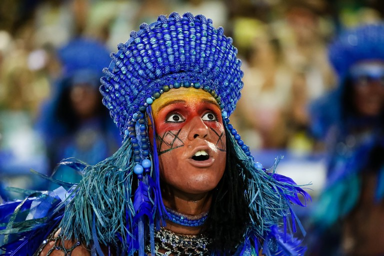 Costumes are an important part of Brazil's Carnival