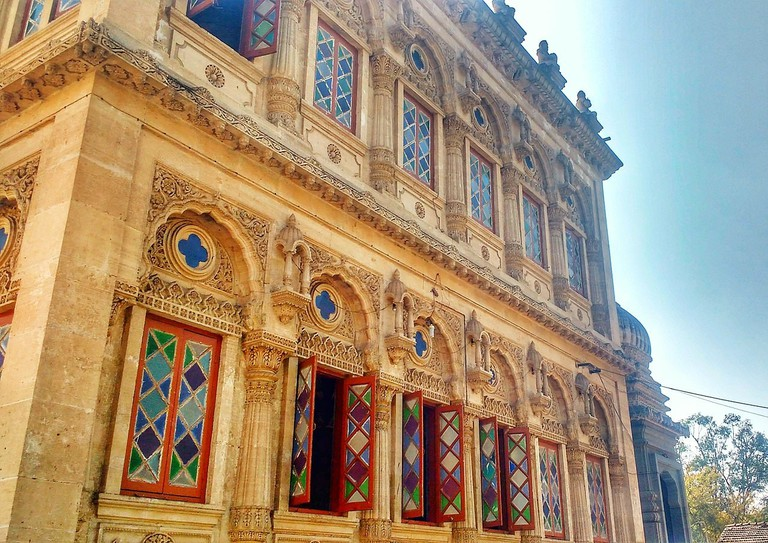 Windows Of Shinde Chhatri, Pune
