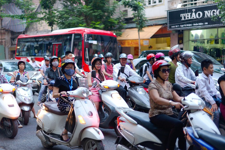 With so many bikes on the roads, accidents do occur