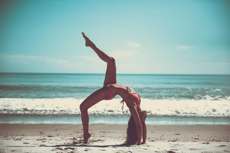 Unwind with some yoga