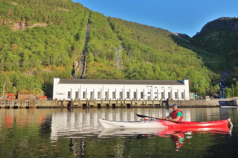 You can take a ferry to Flørli | Courtesy of Flørli 4444 Kafé & Hostel