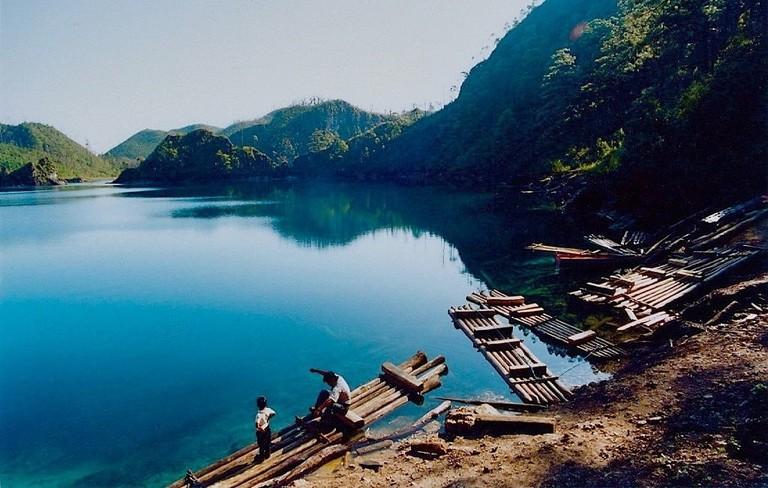 Lago Pojoj, Lagunas de Montebello, Chis.