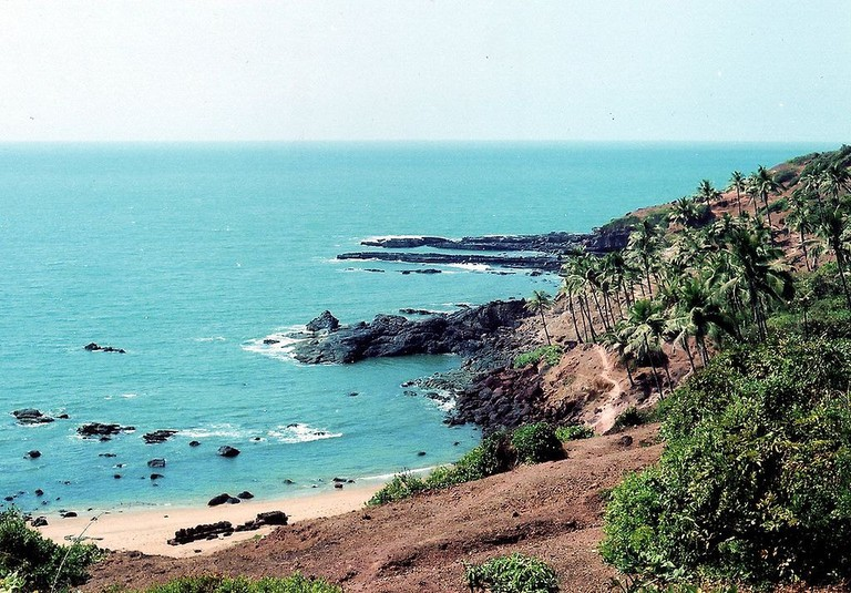 Butterfly Beach in Goa is inaccessible by roads and can only be reached by boat