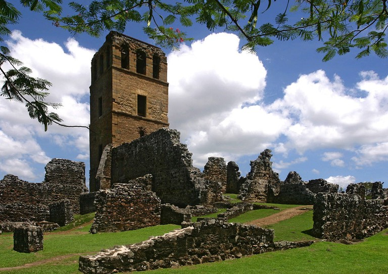 Ruins of the Catedral Panamá Viejo