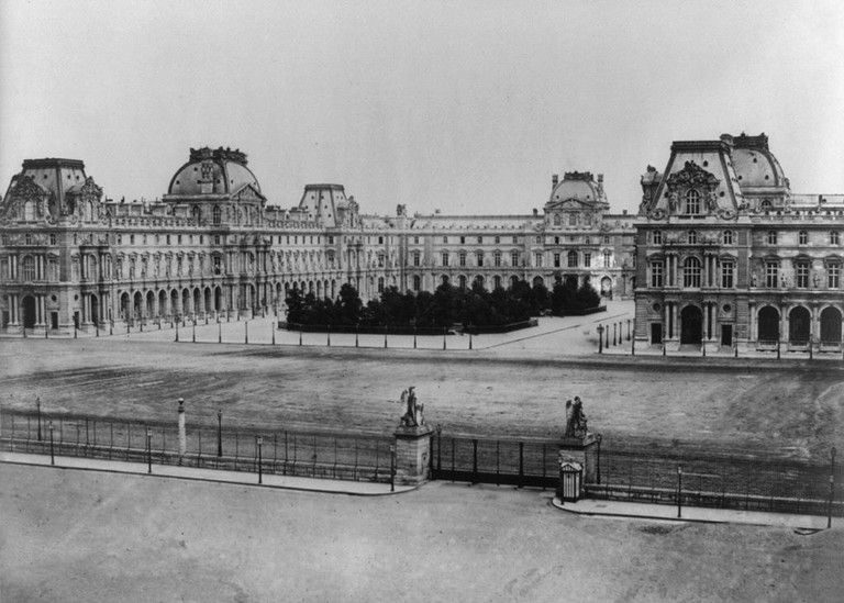 The Louvre 1850-1870