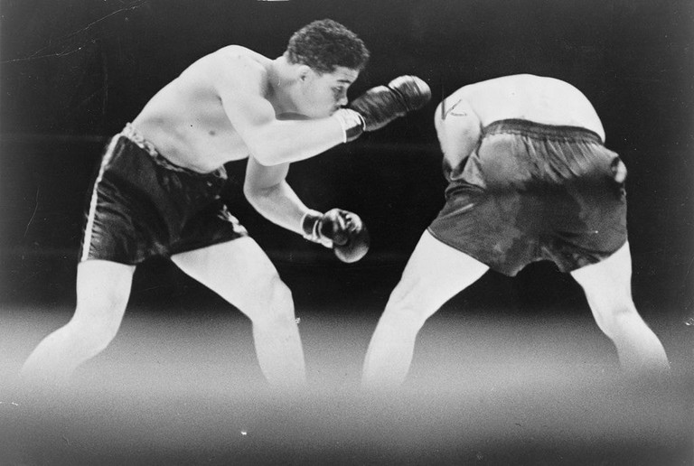 Joe Louis and Max Schmeling in 1936 | © Library of Congress/WikiCommons