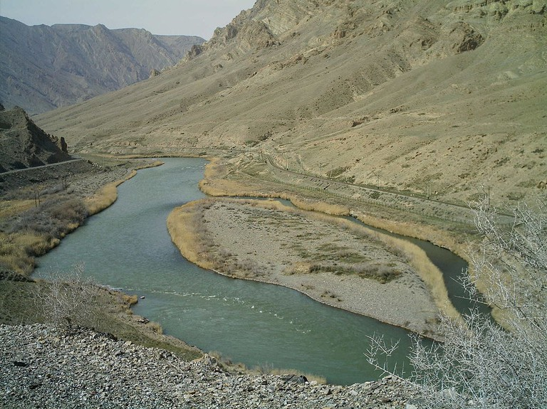 A section of the Araz River near Iran | © M karzarj/WikiCommons