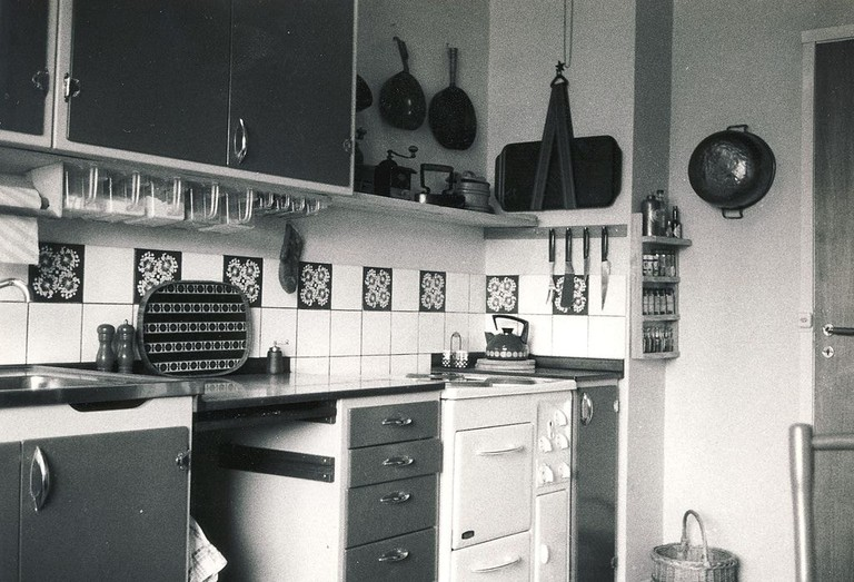 This kitchen was state of the art when it was built in 1968