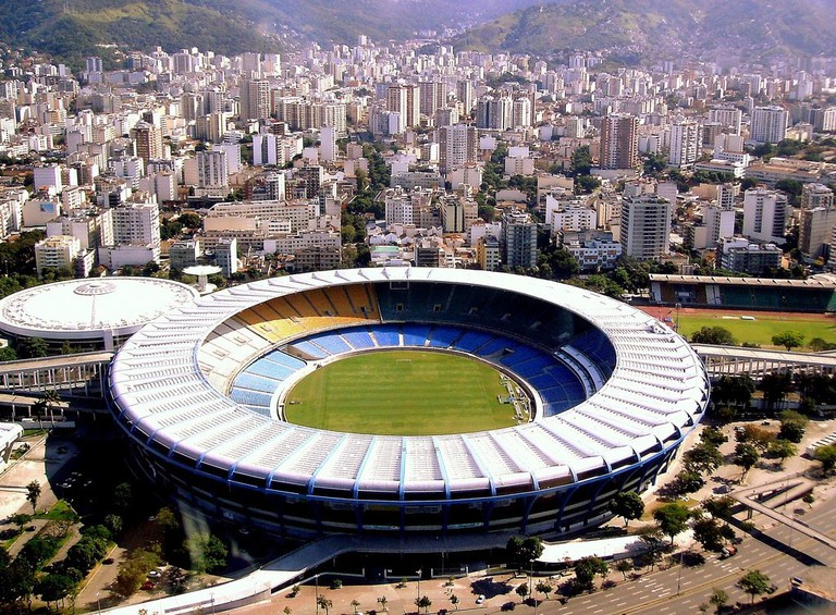 The stadium is in the north of Rio de Janeiro