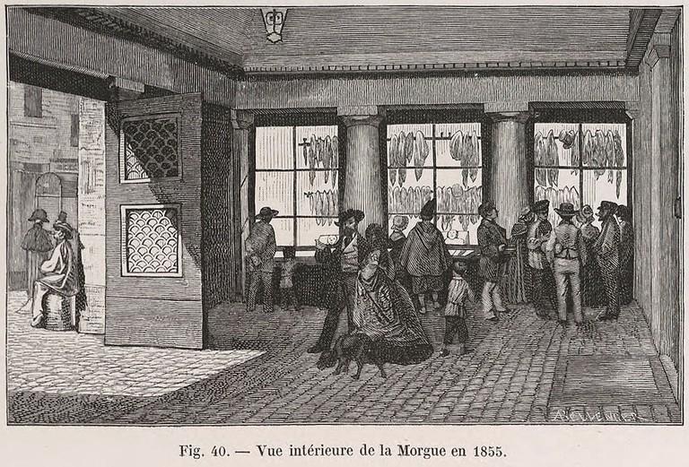 https://commons.wikimedia.org/wiki/File:Vue_int%C3%A9rieure_de_la_Morgue_en_1855.jpg
