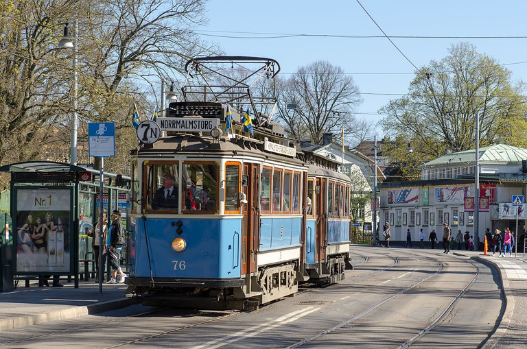 The Djurgarden line is much loved in Stockholm