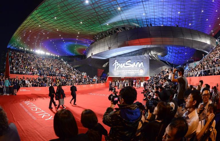 Busan International Film Festival red carpet