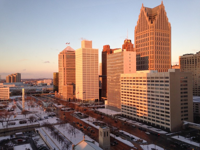 Detroit in January | © Bill VanderMolen/Flickr