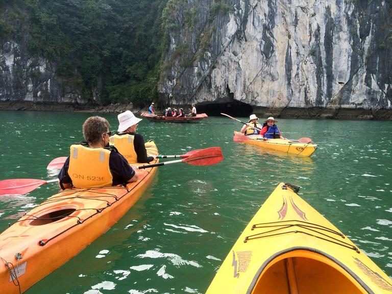 Plenty of good kayaking spots in Vietnam | © Bruce Potter/Flickr