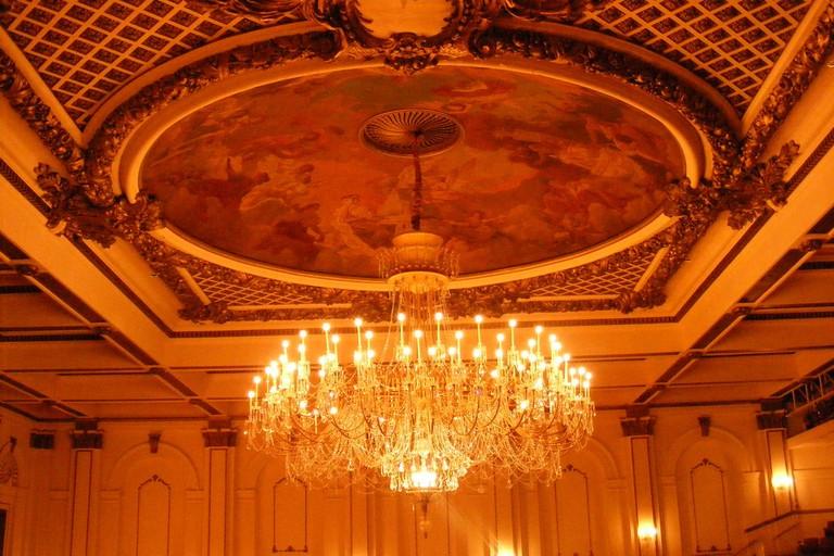 Inside the Cincinnati Music Hall